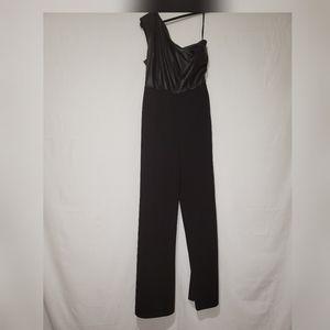 Ny&Co: Black one shoulder jumper